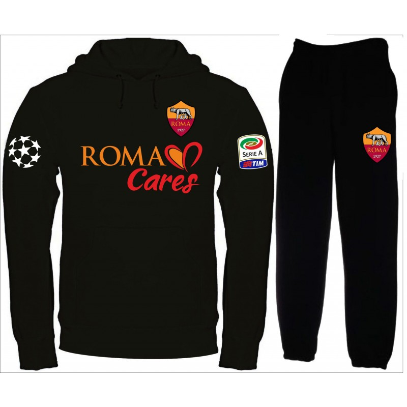 ae6844b802 AS ROMA CHAMPIONS LEAGUE TUTA felpa pantalone