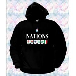 FELPA 6 NAZIONI RUGBY