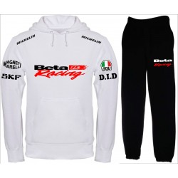 BETA RACING tuta felpa pantalone
